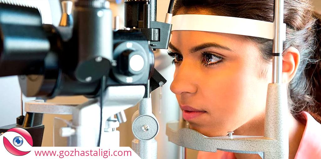 tonometre, tonometre ile göz tansiyonu ölçme, göz tansiyonu nasıl ölçülür, göz tansiyonu,